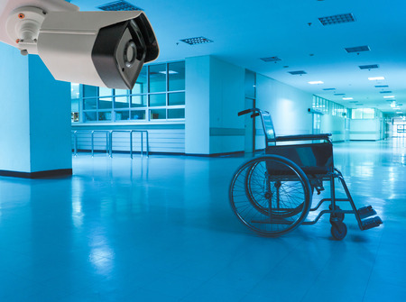 wheelchair Hospital scary and lonely CCTV