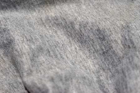 Close up Gray cotton background