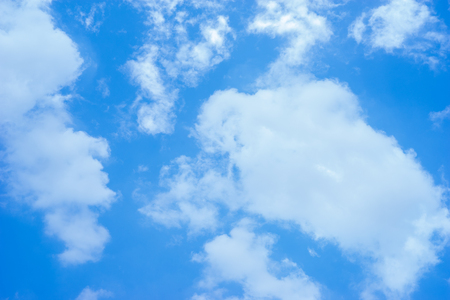 Cloud and Blue Sky background Stock Photo