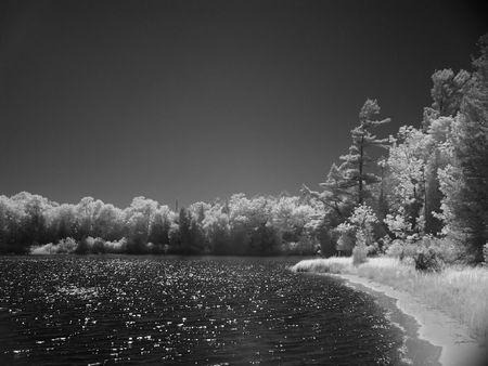 Lower Lake Herring, Infrared