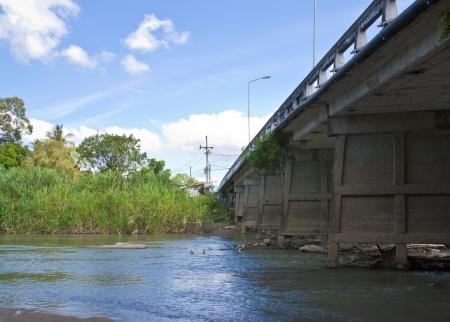 industrail: Industrail circle bridge, Thailand Stock Photo