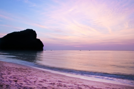 bangbid beach,prajaobkirikhan,thailand photo