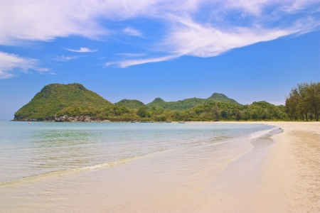 Playa prajaob, prajaopkirikhan, tailandia photo