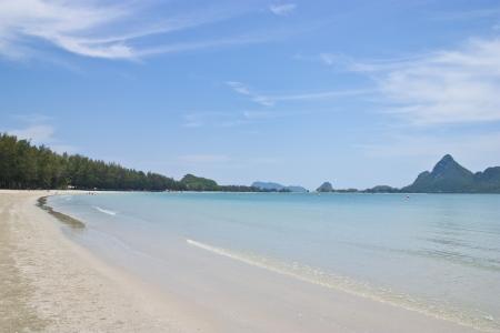 beach,aow manow,prajaopkirikhan,thailand photo