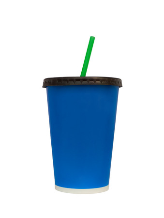 isoleted: Fast food drinking cup isoleted on white background Clipping paths