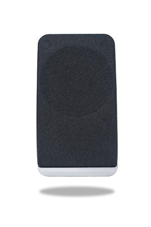 sound speaker: Black sound speaker isolated on white background