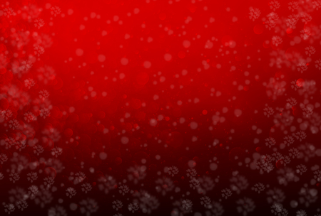 Christmas background, Glitter abstract red bokeh, Red holiday background