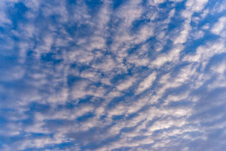 Abstract and pattern of cloud sky background, Pattern of colorful cloud and sky sunset or sunrise: Dramatic sunset in twilight, Beautyful of sky