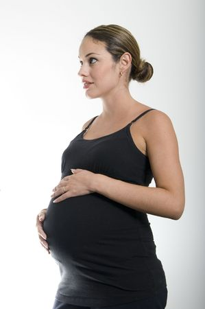pregnant woman at doctors office Stock Photo - 3328772