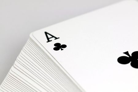 ace of clubs horizontal