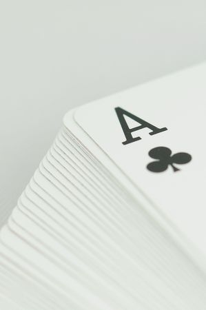 ace of clubs vertical