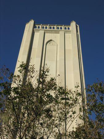 tower at mausoleum
