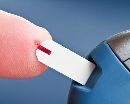 Diabetes Testing Banque d'images