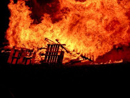 Fire Stock Photo
