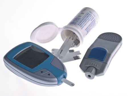 Diabetes Testing Stock Photo