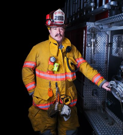 Firefighter Portrait Stock Photo - 5746146