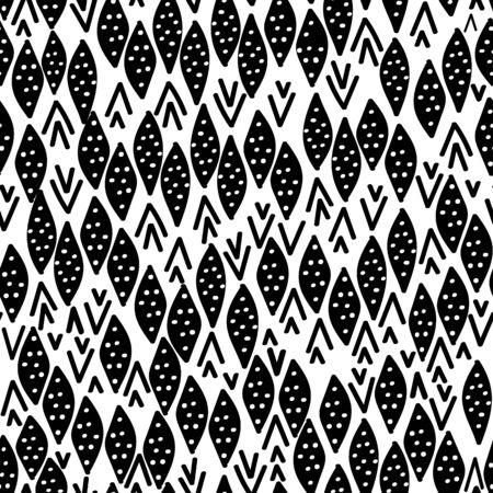 Black with black diamond shapes seamless pattern background design. 向量圖像