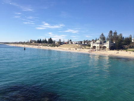 perth: Cottesloe Beach Perth - Australia Stock Photo