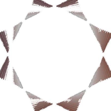 Brown Spatter Frame