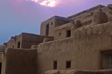 Taos Pueblo Close-Up