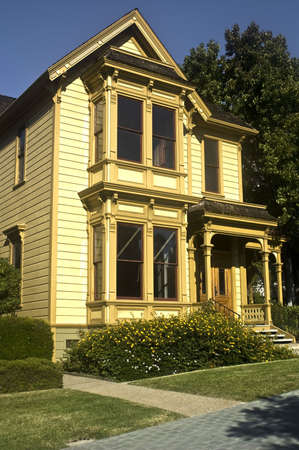 San Diego Italianate style home from Heritage Park, a public park