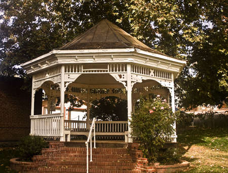plymouth: Gazebo in the Park at Plymouth, Califonia