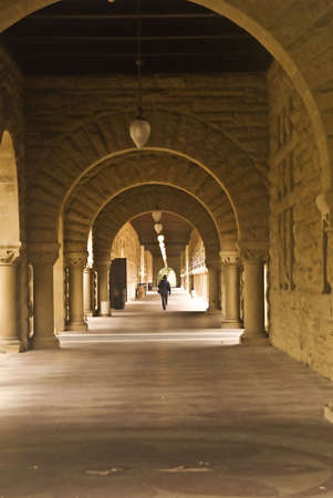 Stanford Quadrangle Hallway