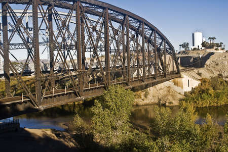 Railroad Bridge in Yuma, Arizona