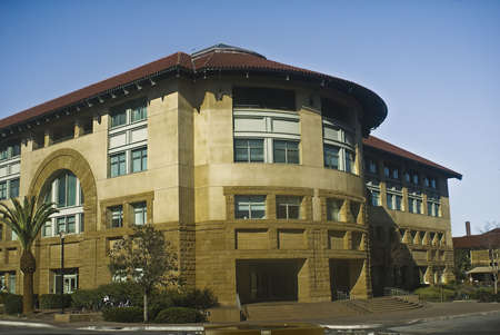 computer science: Computer Science Building at Stanford University Stock Photo