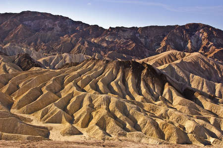 View from Zabriske Point at Death Valley National Park