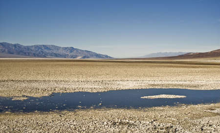 valley view: Death Valley - Vista da Nord Badwater