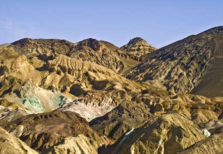 Death Valleys Artist Palette Stock Photo