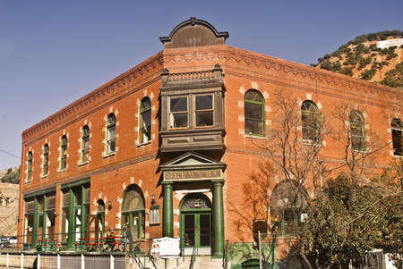 The historic Brewery at Bisbee, Arizona Stock Photo