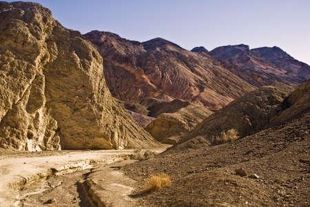 Artist Palette Trail at Death Valley National Park