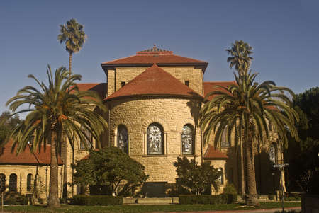 Stanford Universitys Memorial Church - Backside