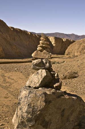 Rocks on the Desert Trail