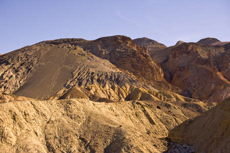 Artist Palette at Death Valley National Park Stock Photo