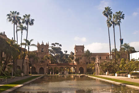 Balboa  Park - San Diegos large public park Stock Photo