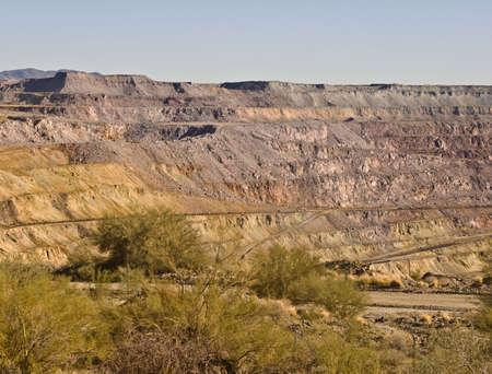 Old Strip Mine at Ajo, Arizona Stock Photo - 4906517