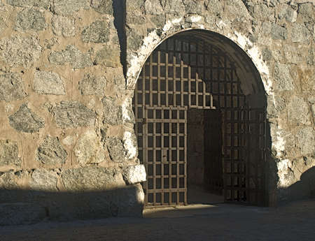 Door to Cell Block at Yuma Territorial Prison