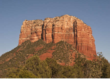 Courthouse Rock in Sedona, Arizona
