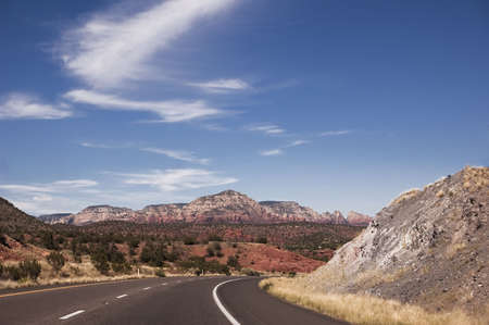 Road to Sedona Stock Photo