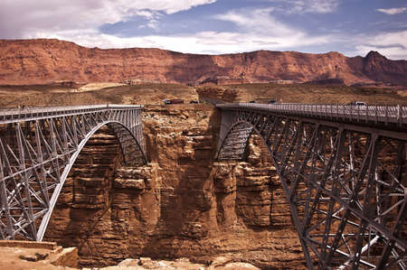 Navajo Bridge in Northern Arizona