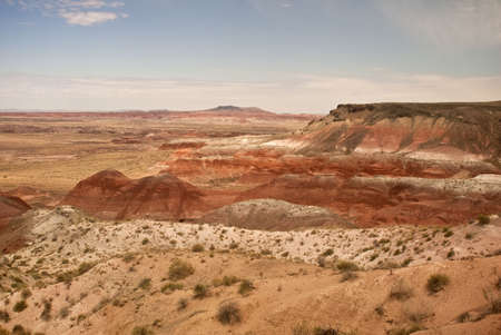 View from Painted Desert Stock Photo