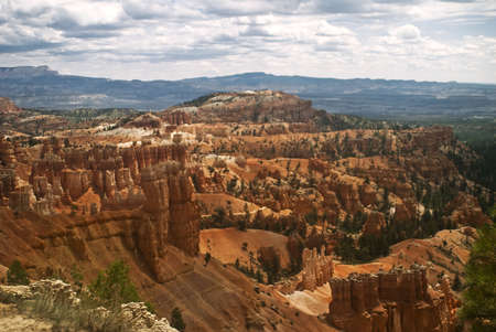 Hoodoos of Bryce Canyon national Park Stock Photo