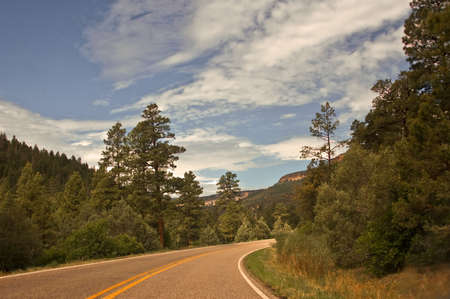 Highway to Jemez Stock Photo - 7606655