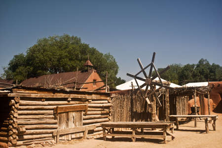 Old New Mexico Village
