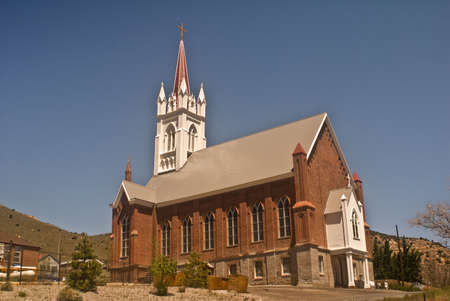 Historic St. Mary of the Mountains Church Stock Photo - 7606634