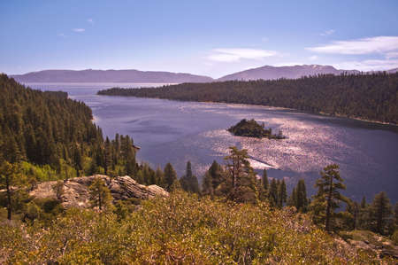 Emerald Bay- Lake Tahoe Stock Photo