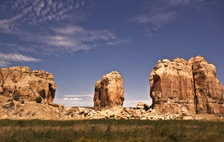 Acoma Landscape Stock Photo - 7918915